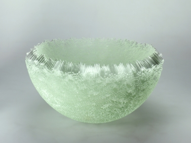 Large Bowl (Edition), 2005, 22 x 48 x 48 cm, fused glass
