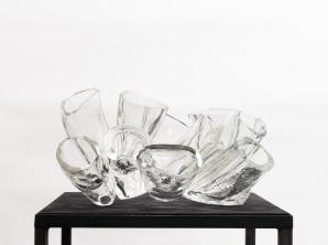 Anemona II, 2019, fused glass