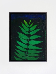 Götterbaum, 2017, 30 x 40 cm, tempera on canvas