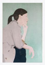 Tanja, 2017, 120 x 80 cm, tempera on canvas