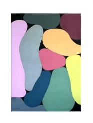 Untitled, 2019, 50 x 40 cm, acrylic on canvas