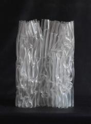 White Ghost, 2009, 50 x 35 x 15 cm, fused glass (Victoria & Albert Museum, London)