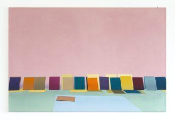 Im Atelier (In the studio), 2020, 80 x 120 cm, oil on canvas