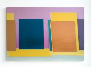 Untitled (Leinwände), 2020, 45 x 65 cm, oil on canvas