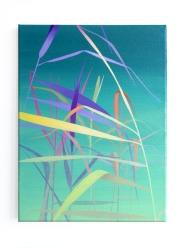Schilf, 2020, 40 x 30 cm, oil on canvas