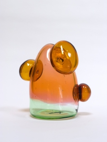 Aurora, 2020, blown glass, 25 x 21 x 15 cm