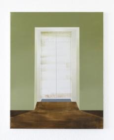 Fahrstuhl, 2020, 60 x 50 cm, oil on canvas
