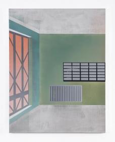 Flur 2, 2021, oil on canvas, 70 x 55 cm