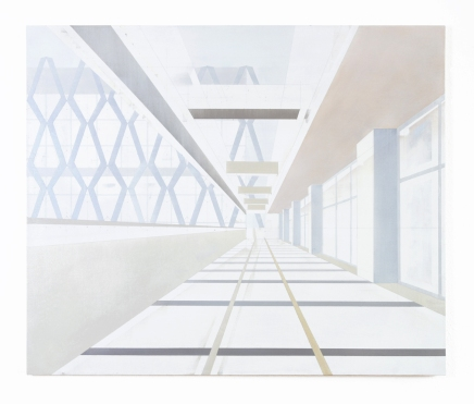 Hotel International, 2021, oil on canvas, 100 x 120 cm